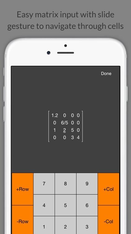 Matrix Calculator + screenshot-3