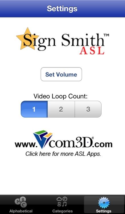 Sign Smith ASL LITE