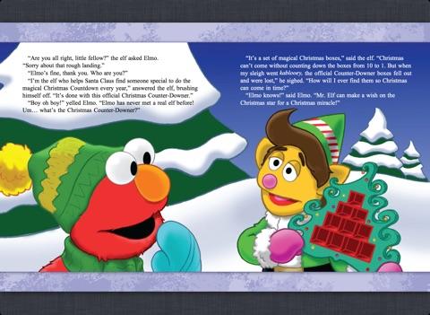 Christmas Counter.Elmo S Christmas Countdown Sesame Street By Megan Mclaughlin Tom Leigh On Apple Books