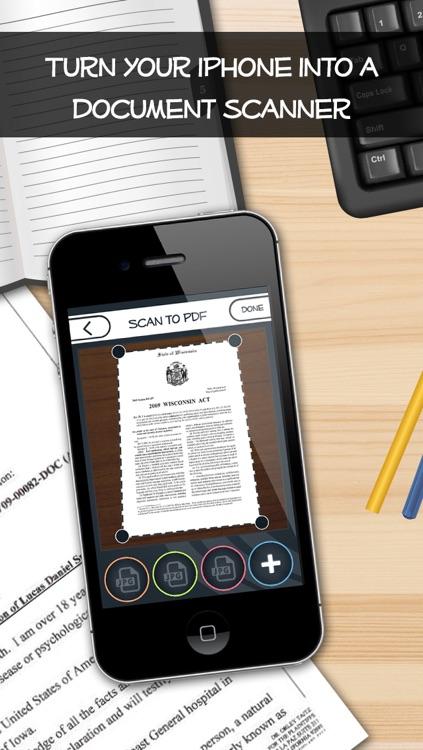 PDF Scanner- Scan to PDF + Camera to PDF