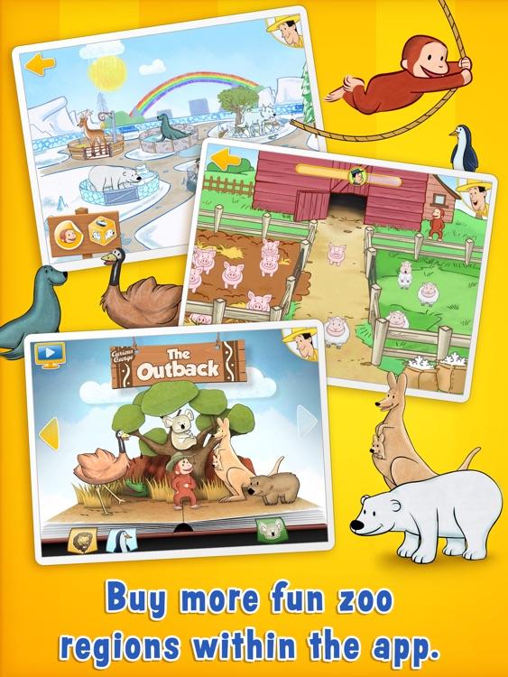 Curious George: Zoo Animals for iPad screenshot-4
