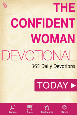 The Confident Woman Devotional screenshot 1