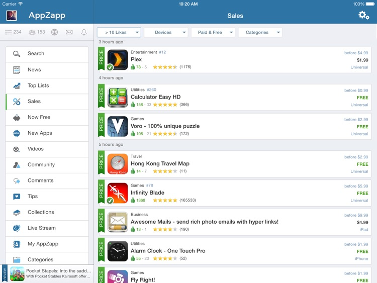 AppZapp HD Pro - daily new Apps, best hot deals & free Apps screenshot-0