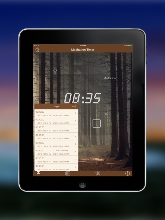 Meditation Timer Pro for iPad screenshot-3