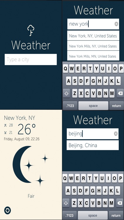 Weather Report.Get latest weather condition from any places in the world