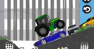 Farm Driver - Uphill Tractor