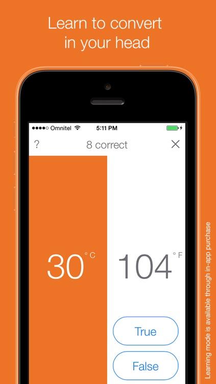 Dgrees - Celsius & Fahrenheit Converter