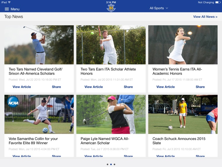 Rollins College Athletics for iPad 2015 screenshot-4