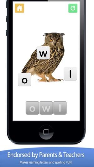 little speller - three letter words lite - free educational game for