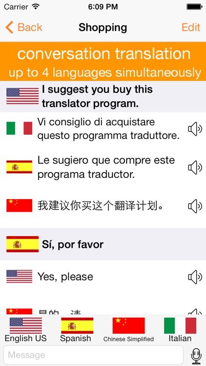 Translator 4 - More than a dictionary - Translator screenshot-3