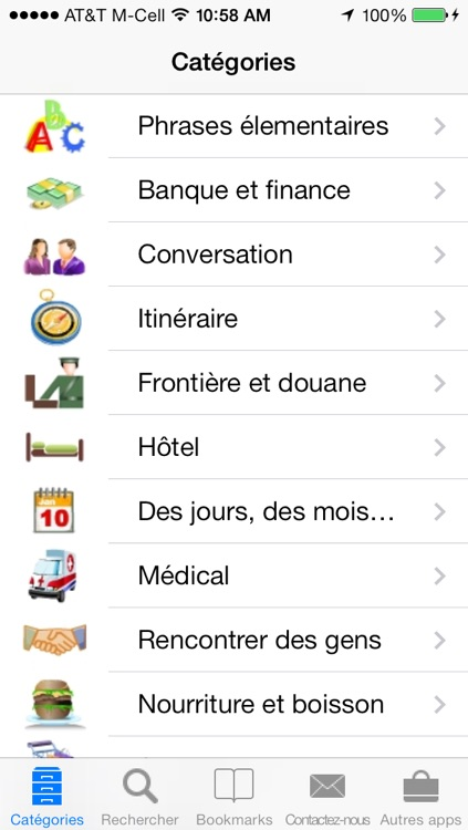 French to English Talking Translator Phrasebook