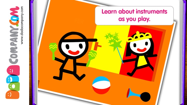 D5EN5: The Instruments - An Interactive Game Book for babies and toddlers screenshot-2