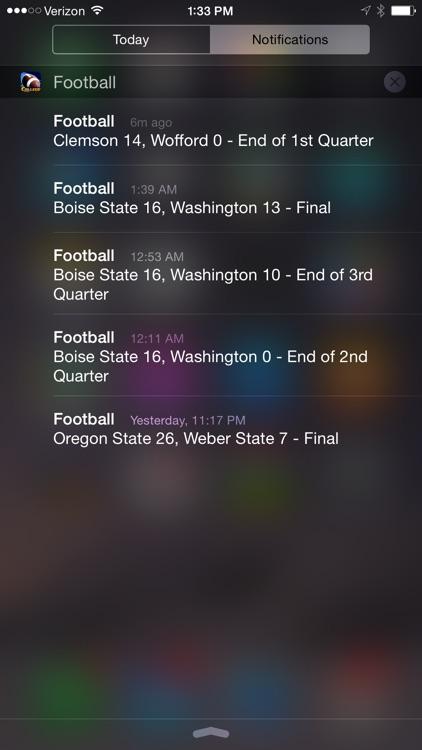 College Football Scoreboard screenshot-4
