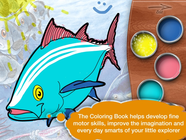 Narrated Fairy Tale Coloring Book