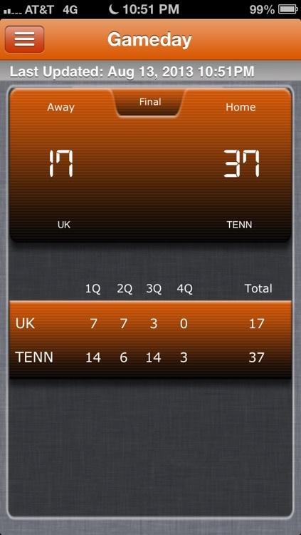 Tennessee Vols Football Live screenshot-4