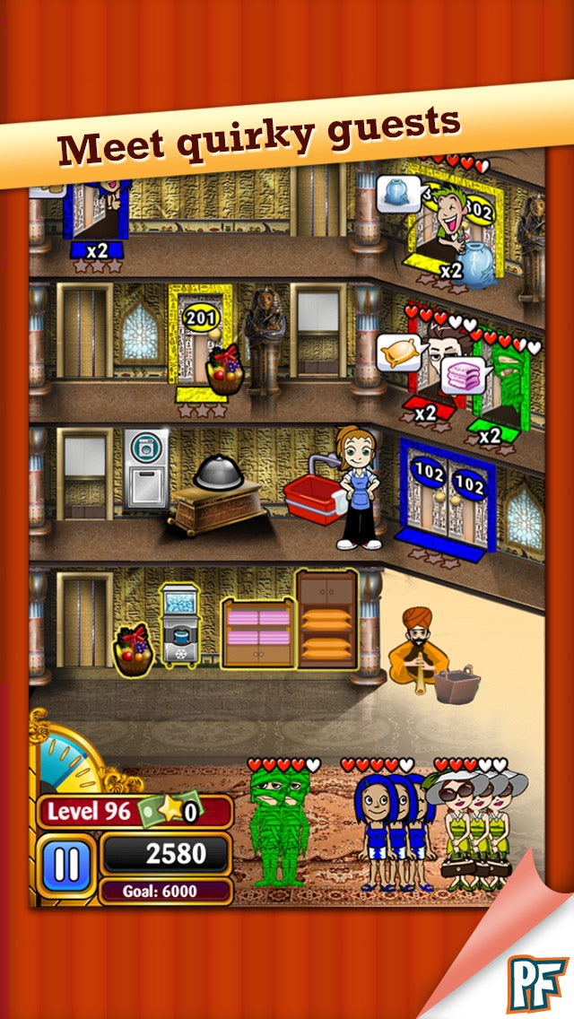 Hotel Dash Deluxe screenshot1
