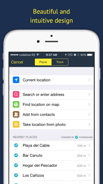 Rego Pro: Bookmarks for places Screenshots