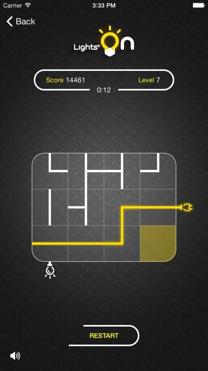 Lights On Puzzle screenshot-3