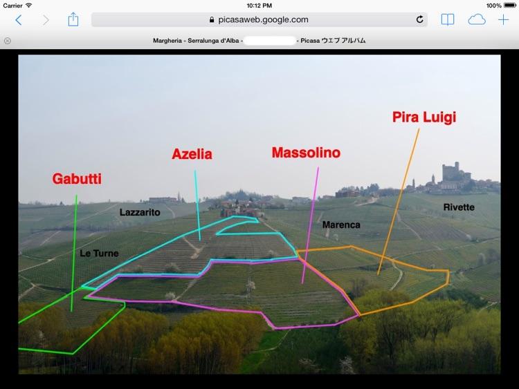 Serralunga & Diano d'Alba Wine Map