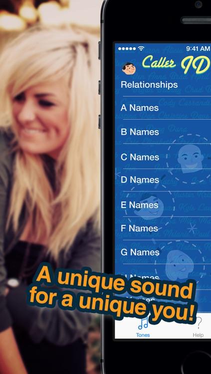 Caller ID Ringtones - HEAR who is calling screenshot-4