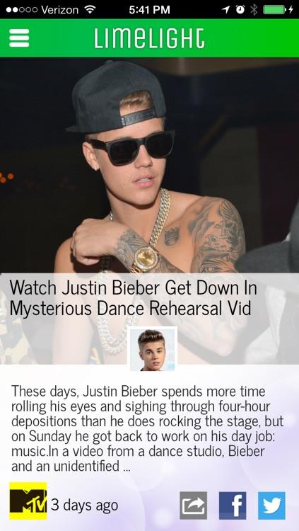 Limelight — Celebrity News