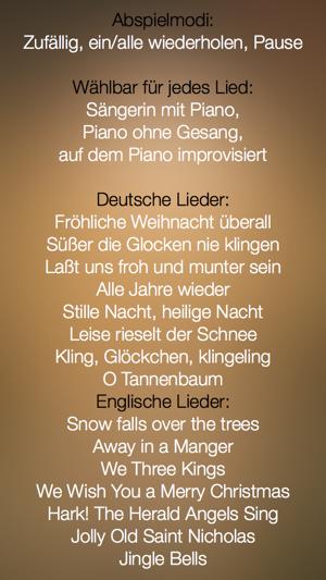 Weihnachtslieder - im Studio aufgenommen, zum Mitsingen - FREE im ...