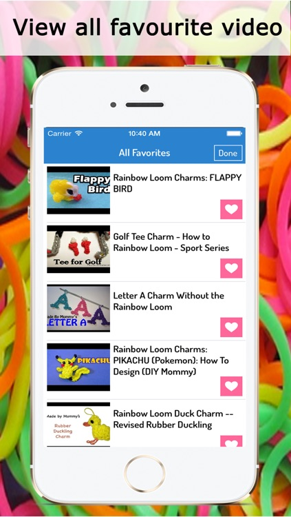 Rainbow Looms : Best Video guide for bracelets, necklace, flowers, cartoons, and many more