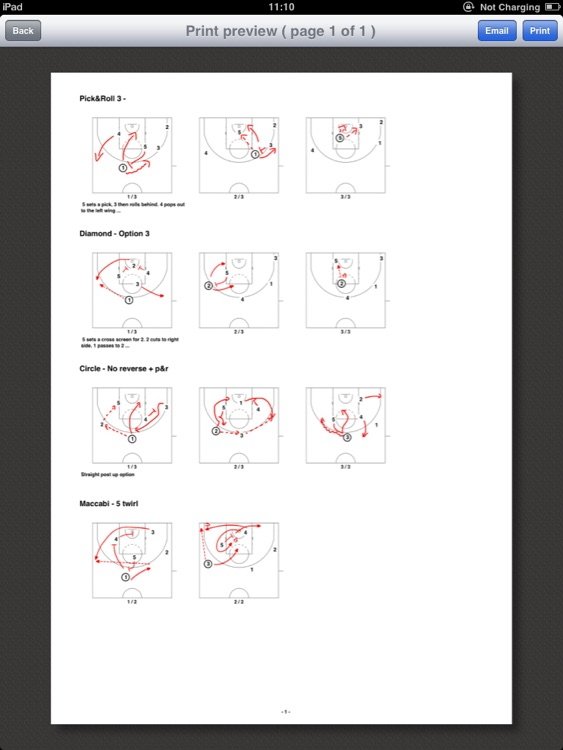 Easy4Coach - Basketball screenshot-3