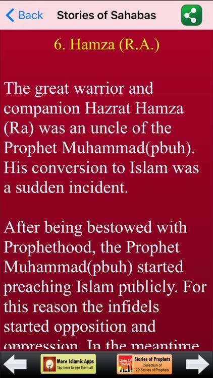 Islamic Stories of Sahabas (Companions of Prophet Muhammad