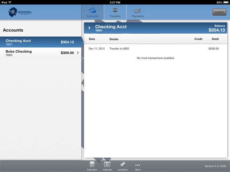 SWACU Tablet Banking screenshot-2