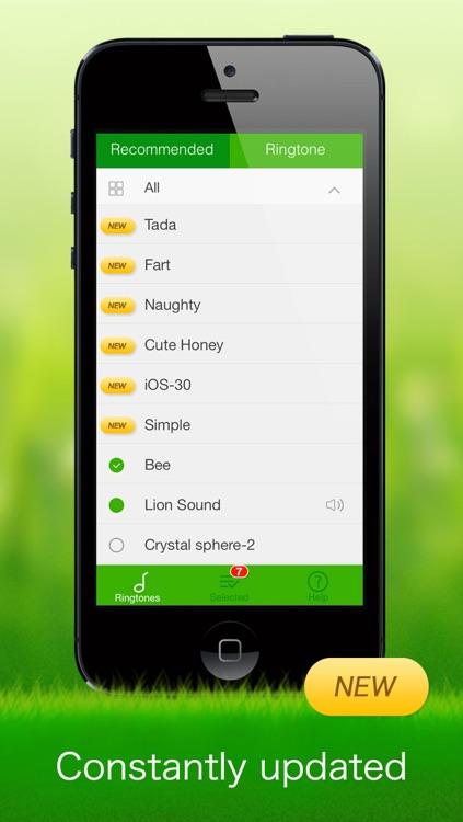Text Tones for iPhone screenshot-3
