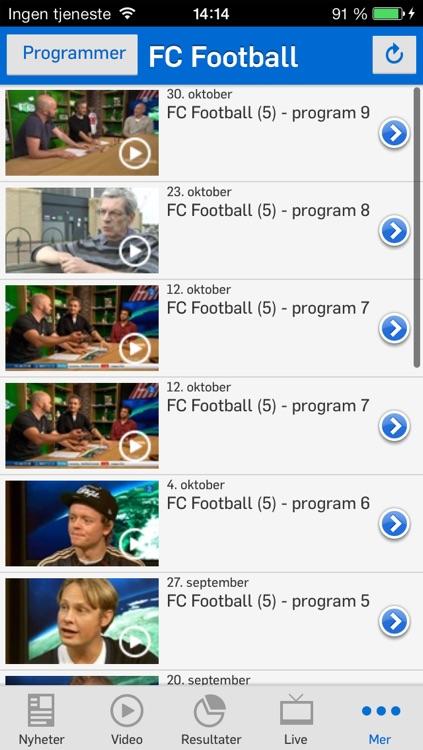TV 2 Sporten for iPhone screenshot-4