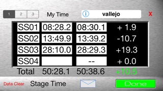 ASE Rally Monitor screenshot1