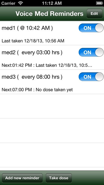 Voice med reminder lite screenshot-0