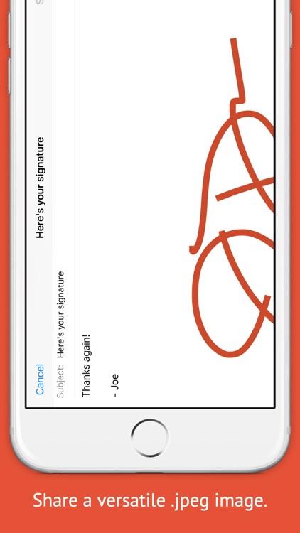 Signature+ screenshot-3