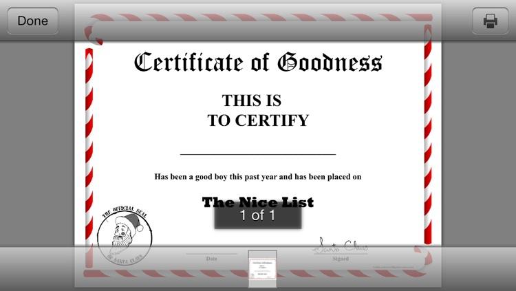 CertificateCreator.com Christmas Edition screenshot-4