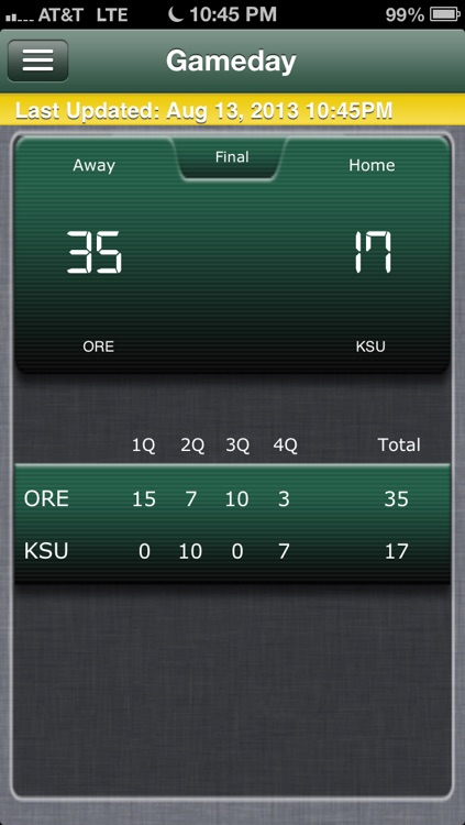 Oregon Football Live screenshot-4