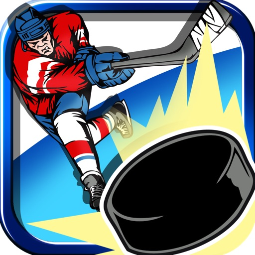 A Flick It Ice Hockey Pro Game