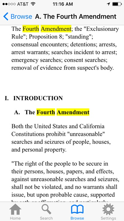 California Peace Officers Legal Sourcebook and Codes screenshot-3