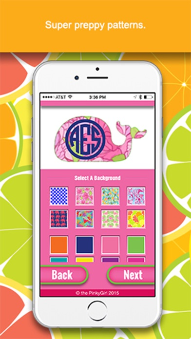 The PinkyGirl Monogram Maker And Text App Lite