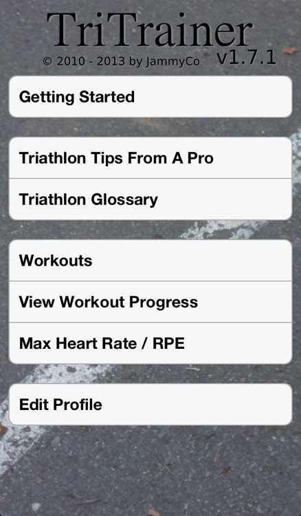 Triathlon Trainer