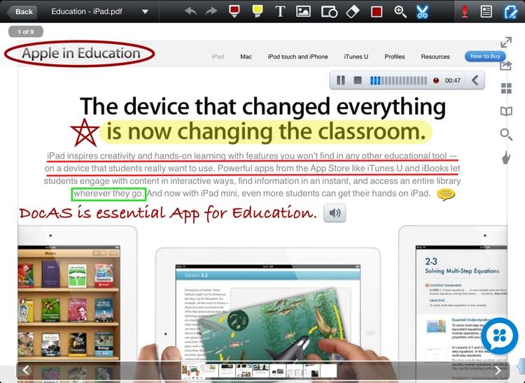 DocAS - PDF Converter, Annotate PDF, Take Notes and Good Reader screenshot-4