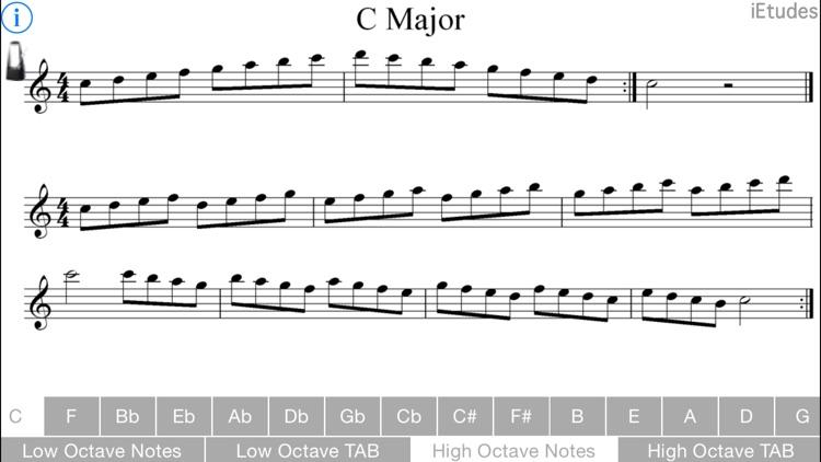 Major Scales Guitar screenshot-3