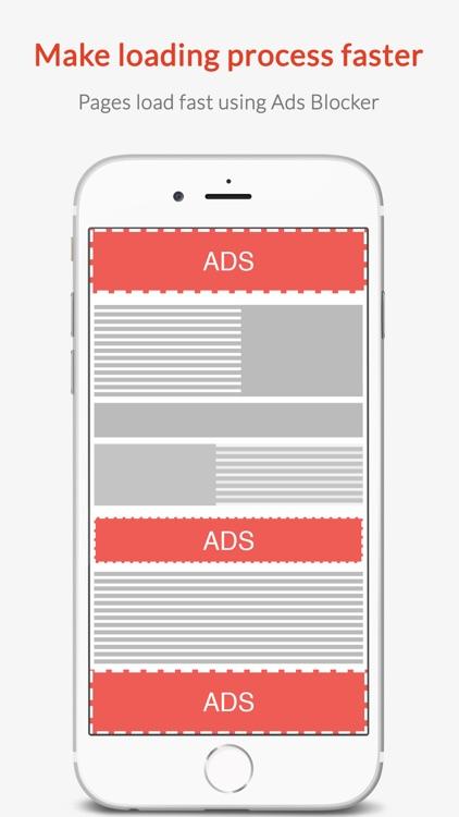 Ad Blocker - Block Ads, Browse Faster screenshot-3