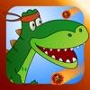 运行迪诺运行2:可爱的宝宝T-REX恐龙在一个超级好玩的侏罗纪世界快速比赛当天 - 由tiltan游戏高清ipad的免费游戏 - 玩现在从史前繁忙最新滑稽的动作逃逸