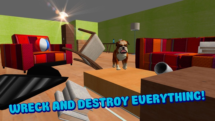 Dog Simulator 3D: House Crash Full screenshot-3