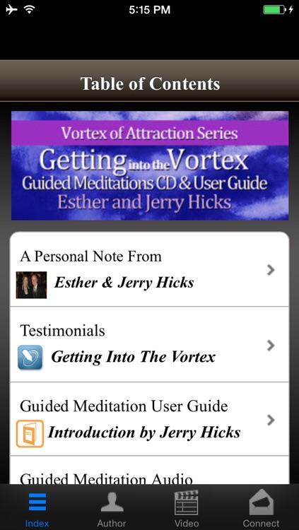 Abraham Hicks Vortex Attraction Guided Meditations