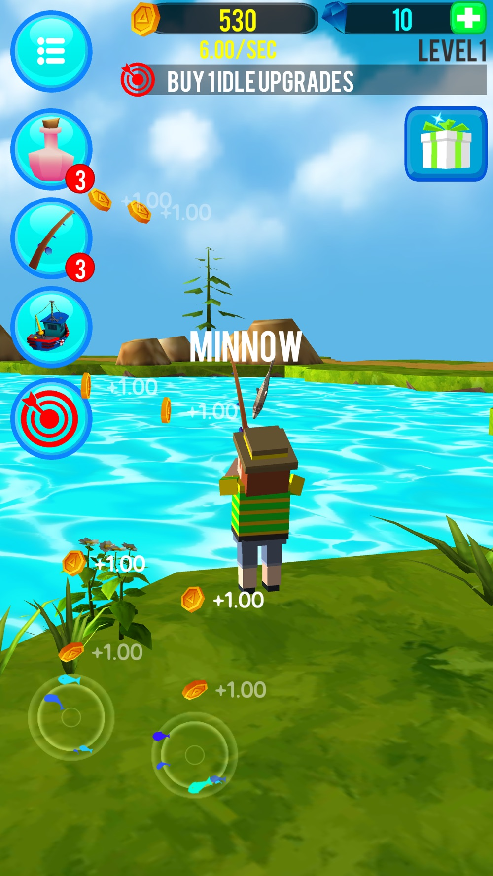 Fishing Clicker Cheat Codes