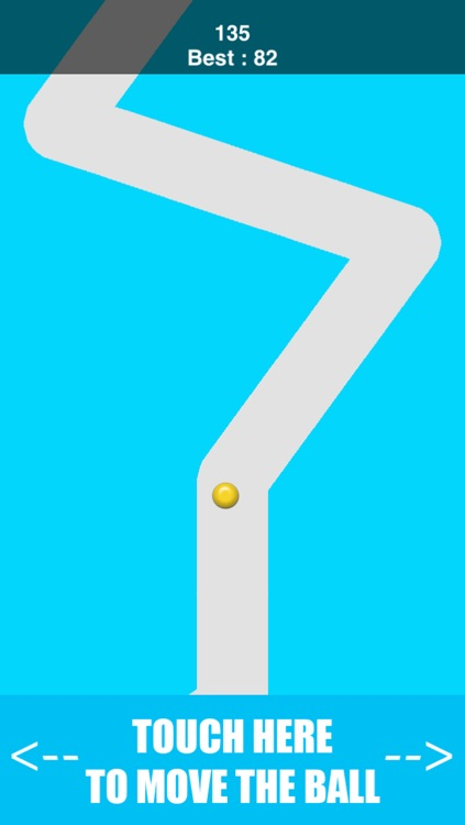 Inside The Line Path - keep the dot in the line's two walls screenshot-3