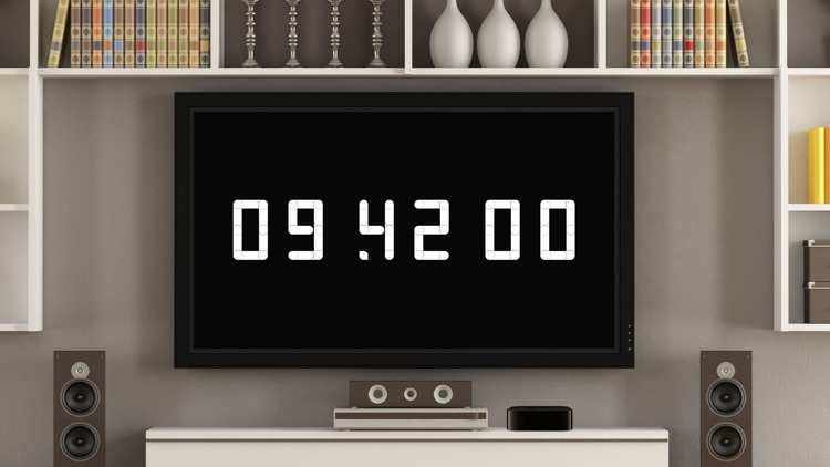 Clockus for TV – Animated Clock Screensaver